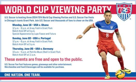 FIFA World Cup Viewing Parties in Chicago